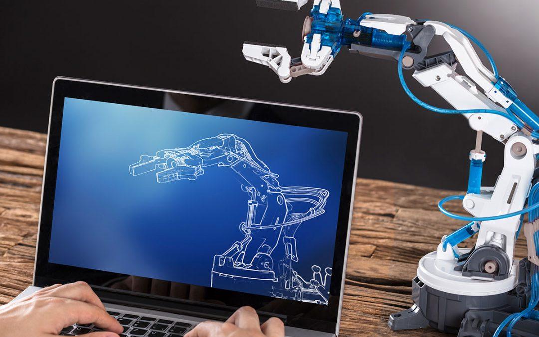 La sintesi cinematica di una pinza robotica