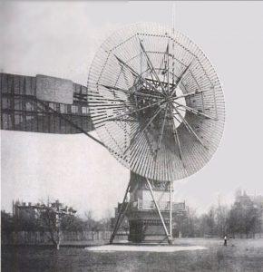 Generatore eolico di Brush
