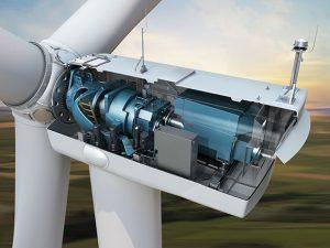 Componenti di una moderna turbina eolica da 3MW
