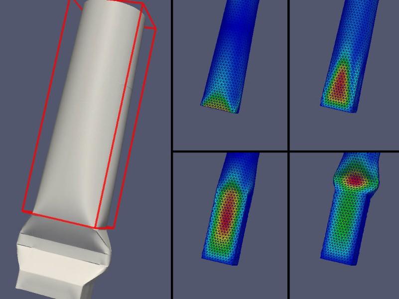 Simulazione della interazione fluido struttura nel packaging