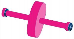 Set-up per l'equilibratura a piano singolo di un disco rotante.