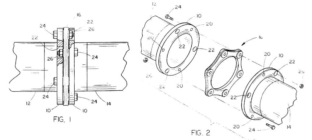 Accoppiamento cinematico, brevetto US005724715A