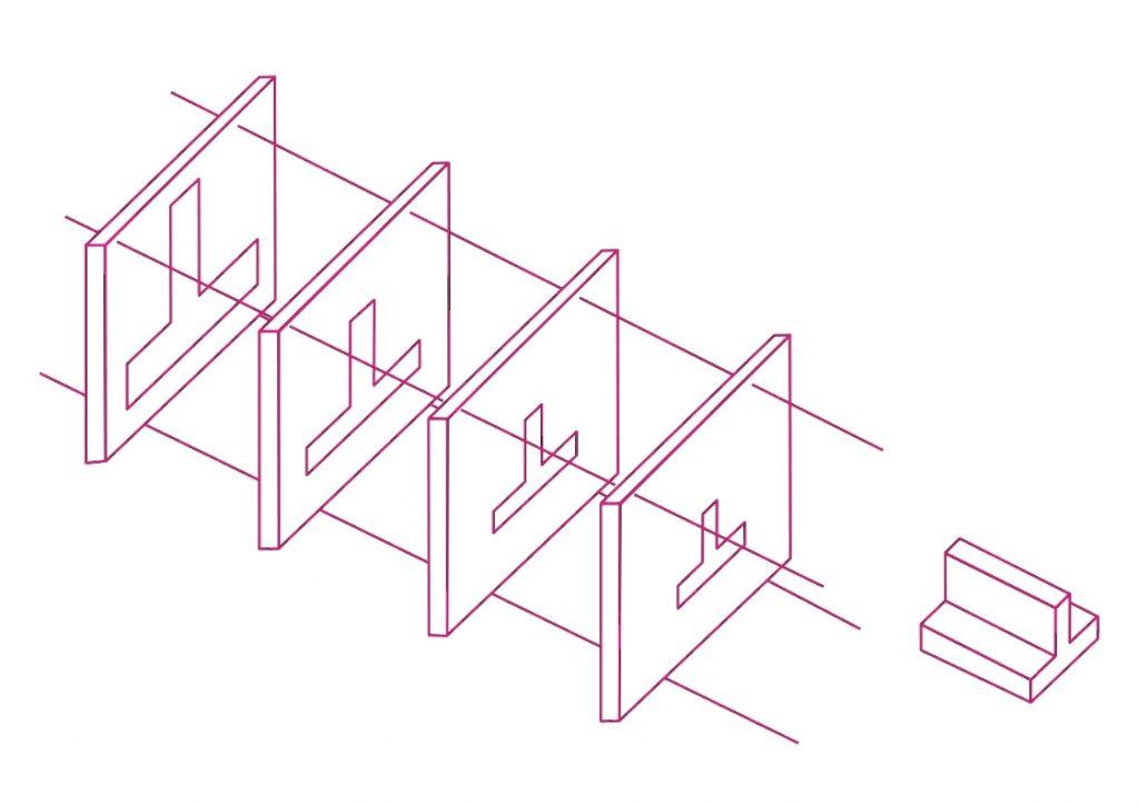 Rappresentazione schematica delle piastre di calibrazione