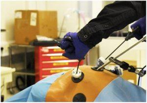 Modello per la simulazione di interventi di laparoscopia