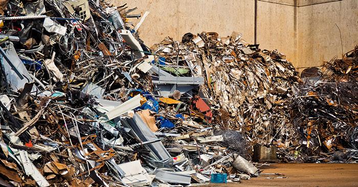 Selezione e riciclo dei materiali ferrosi e non ferrosi